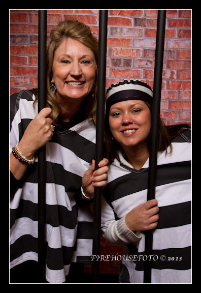 Portland Photobooth with a jail theme