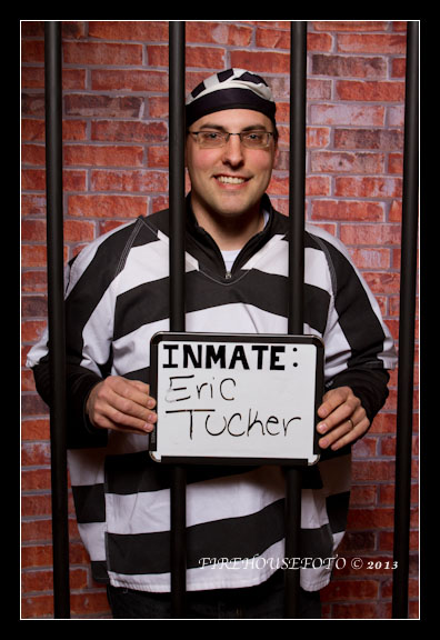 Vancouver Photo Booth with a prison theme