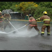 Clark County Fire Cadet head to MERTS for fire training